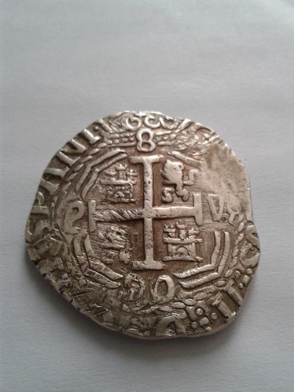 8  reales 1652, Potosi 20170411