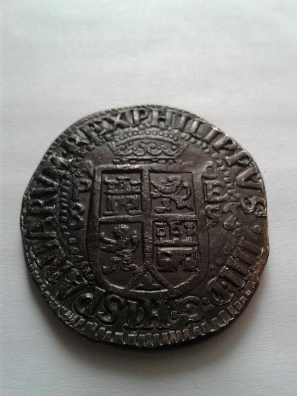 8  reales 1652, Potosi 20170413
