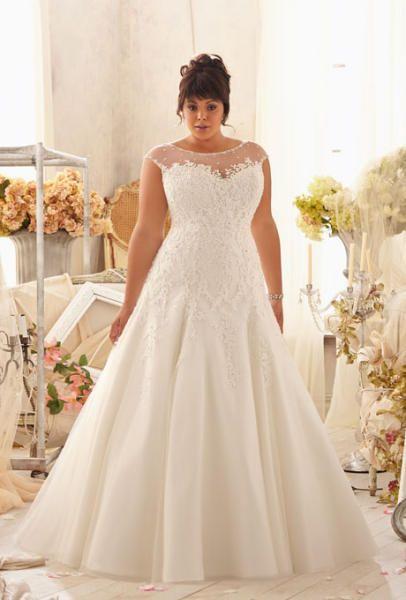 احدث واجمل فساتين زفاف 2018 1015