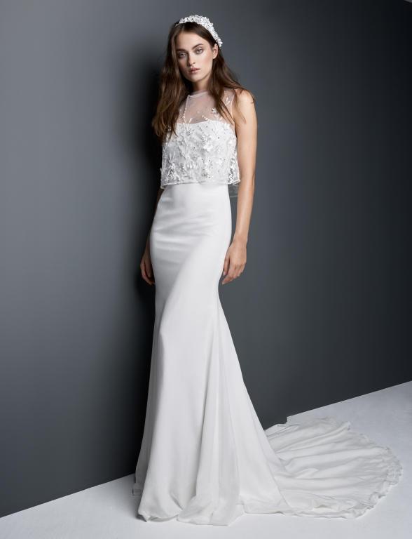 احدث واجمل فساتين زفاف 2018 1114