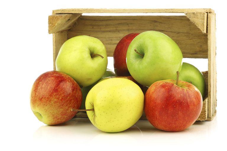 افضل فوائد التفاح الاخضر والاحمر والاصفر 469