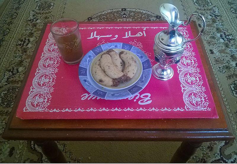 حلى الهلال المغربي بالشوكولاته 746