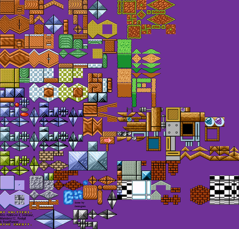 Super Mario Bros 3 Ultra Tileset