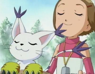 "Kuramon says ""Hello!"" Kari_g12"