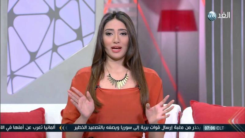 ازياء المذيعة رنا الهويدي  828
