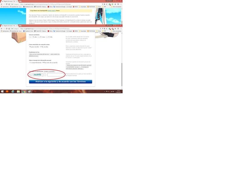 Pequeño tutorial para el registro en JP 512