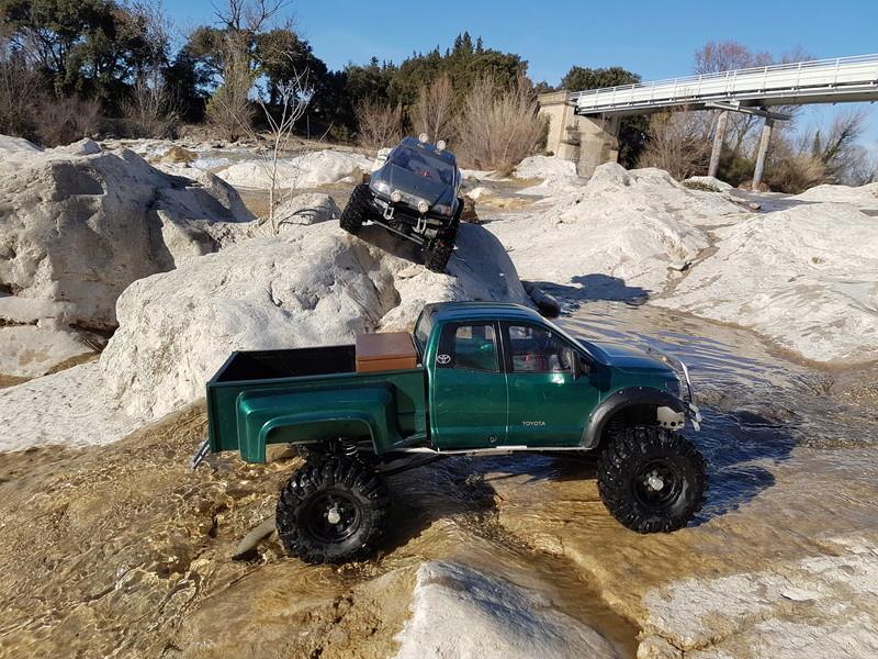 Un Tundra sur base SCX10 20170212