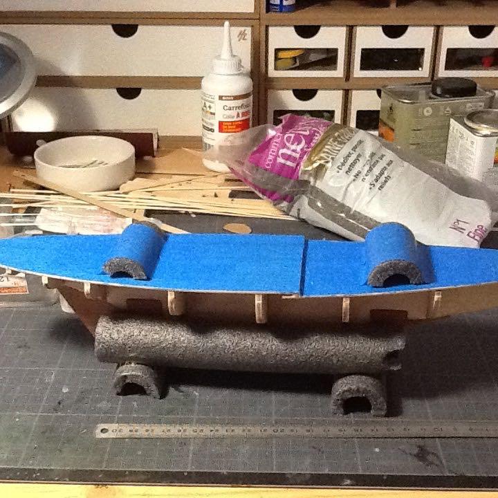 Mon 1er bateau bois: BLUENOSE 1/100° Ponts_10