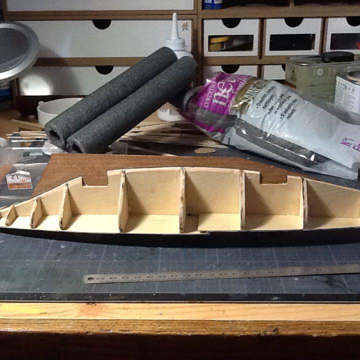 Mon 1er bateau bois: BLUENOSE 1/100° Preit_10
