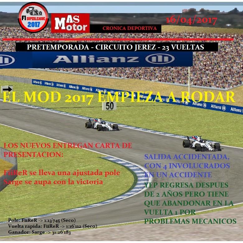 Pretemporada F1SL - Jerez Jerez10