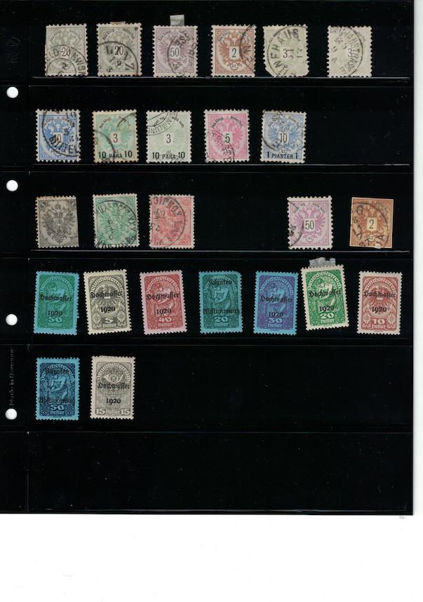 Einschätzung Sammlung Europa geschätzt 1850-1930 Cci18036