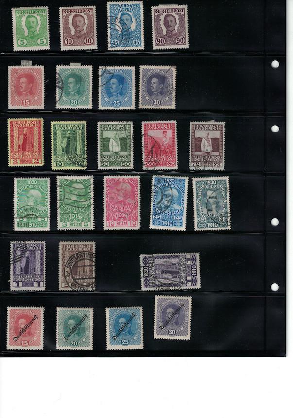 Einschätzung Sammlung Europa geschätzt 1850-1930 Cci18037