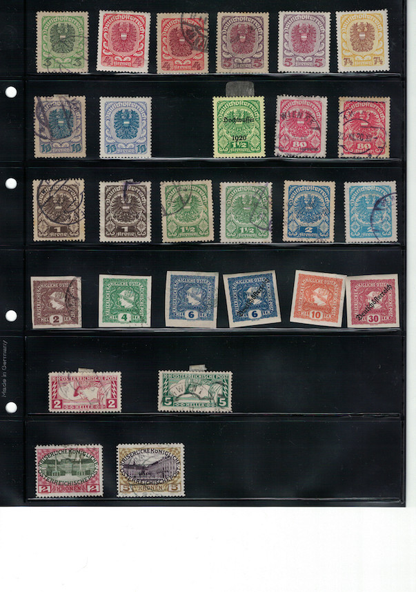 Einschätzung Sammlung Europa geschätzt 1850-1930 Cci18039