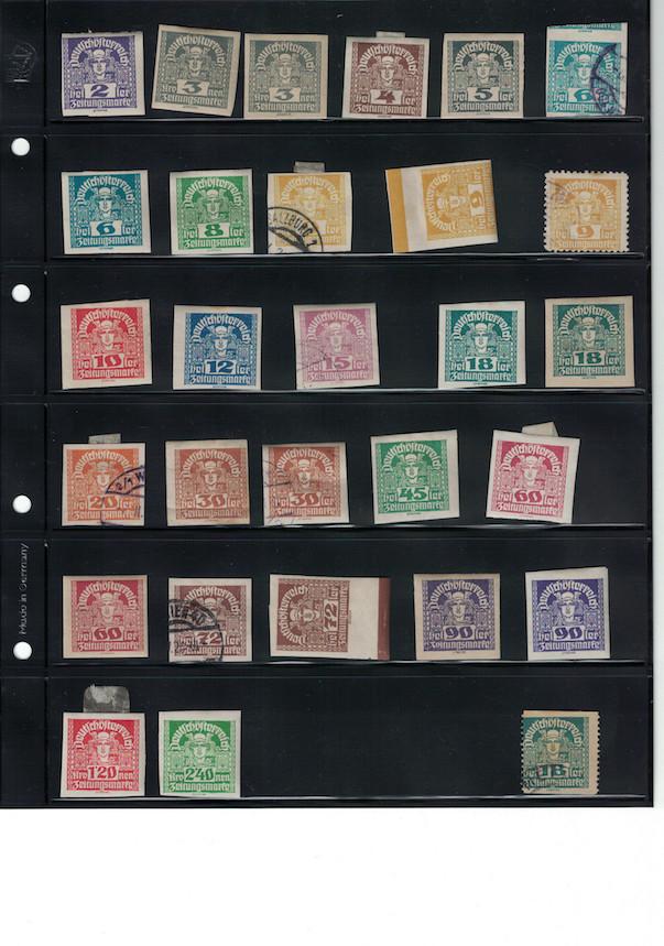 Einschätzung Sammlung Europa geschätzt 1850-1930 Cci18040