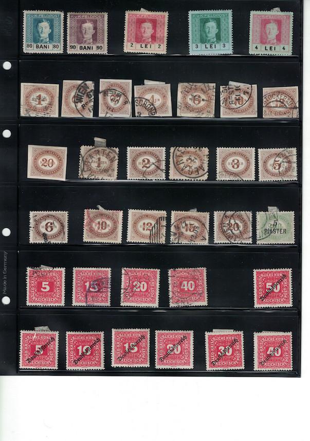 Einschätzung Sammlung Europa geschätzt 1850-1930 Cci18042