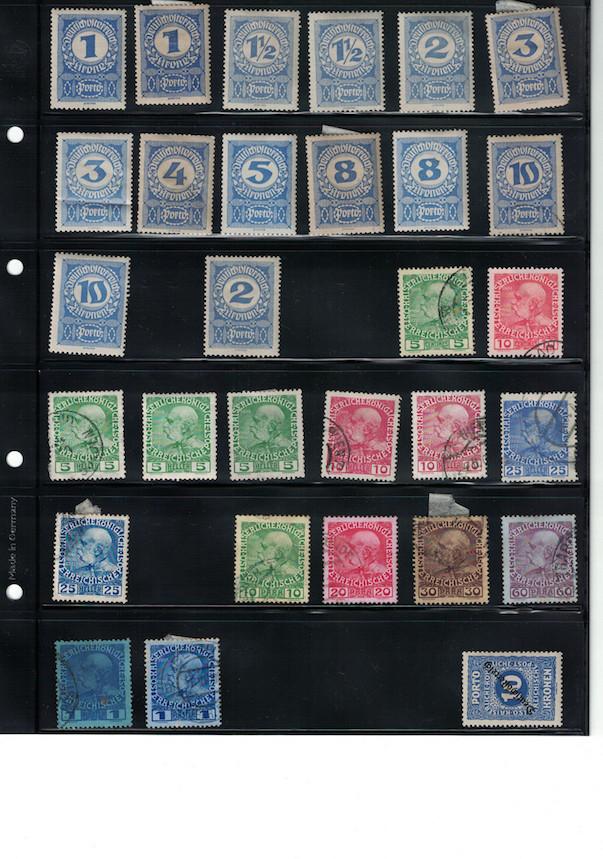 Einschätzung Sammlung Europa geschätzt 1850-1930 Cci18043