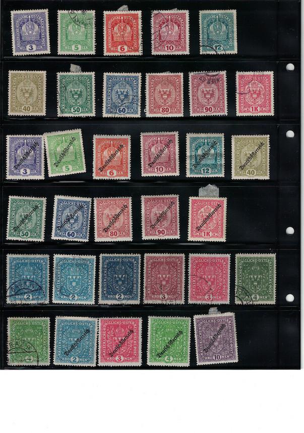 Einschätzung Sammlung Europa geschätzt 1850-1930 Cci18044