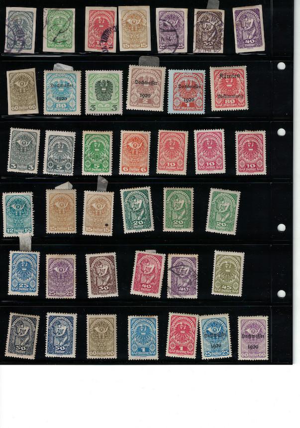 Einschätzung Sammlung Europa geschätzt 1850-1930 Cci18047