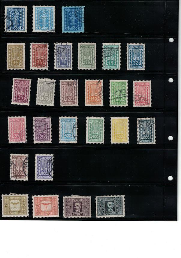 Einschätzung Sammlung Europa geschätzt 1850-1930 Cci18052