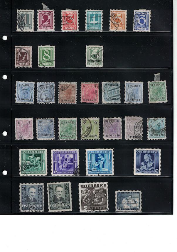Einschätzung Sammlung Europa geschätzt 1850-1930 Cci18056