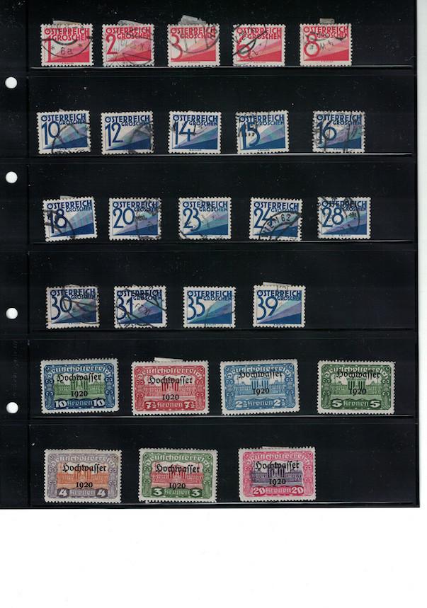 Einschätzung Sammlung Europa geschätzt 1850-1930 Cci18057