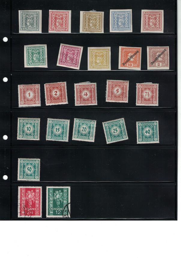 Einschätzung Sammlung Europa geschätzt 1850-1930 Cci18059