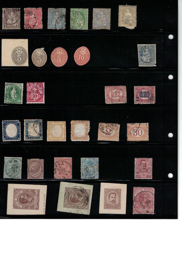 Einschätzung Sammlung Europa geschätzt 1850-1930 Cci18061