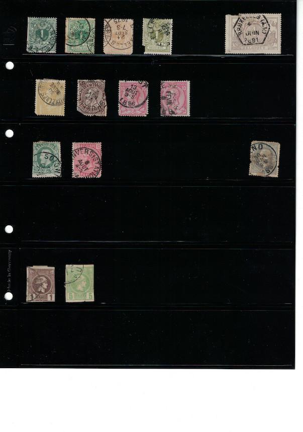 Einschätzung Sammlung Europa geschätzt 1850-1930 Cci18062