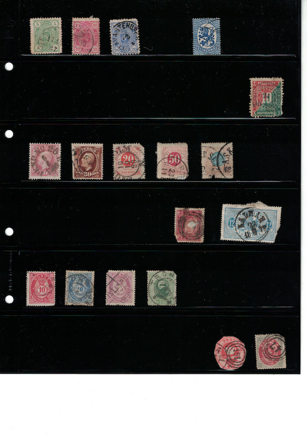 Einschätzung Sammlung Europa geschätzt 1850-1930 Cci18063