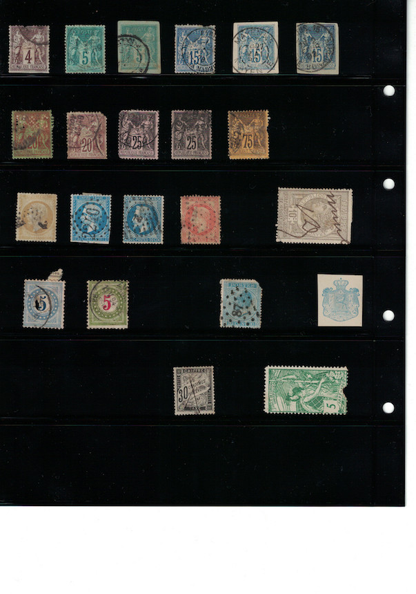 Einschätzung Sammlung Europa geschätzt 1850-1930 Cci18066