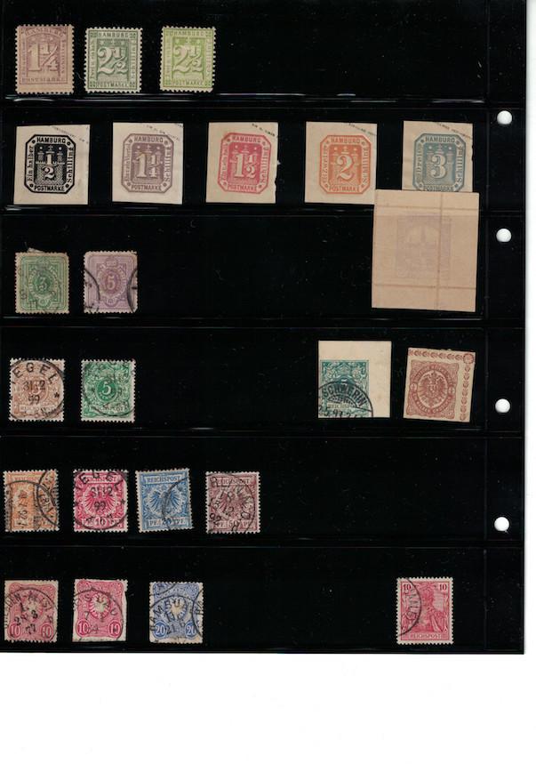 Einschätzung Sammlung Europa geschätzt 1850-1930 Cci18068