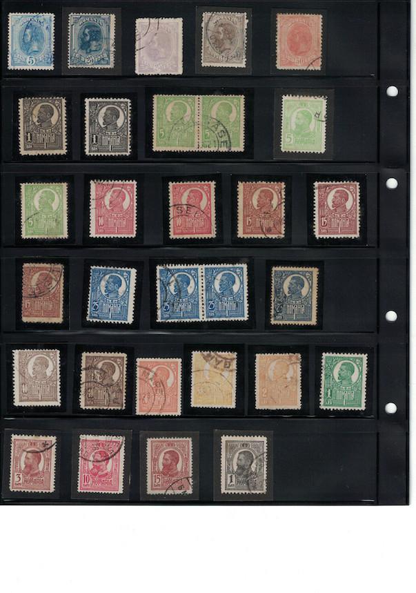 Einschätzung Sammlung Europa geschätzt 1850-1930 Cci18070