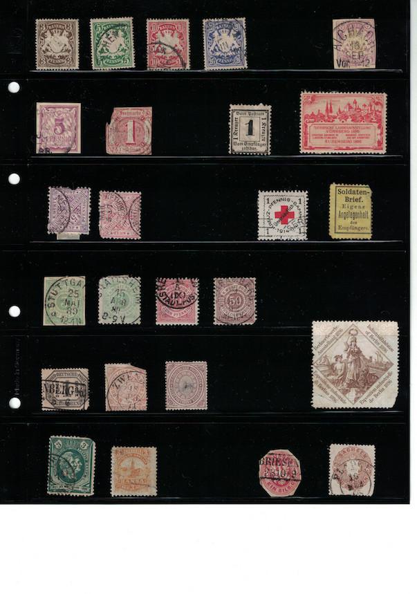 Einschätzung Sammlung Europa geschätzt 1850-1930 Cci18071