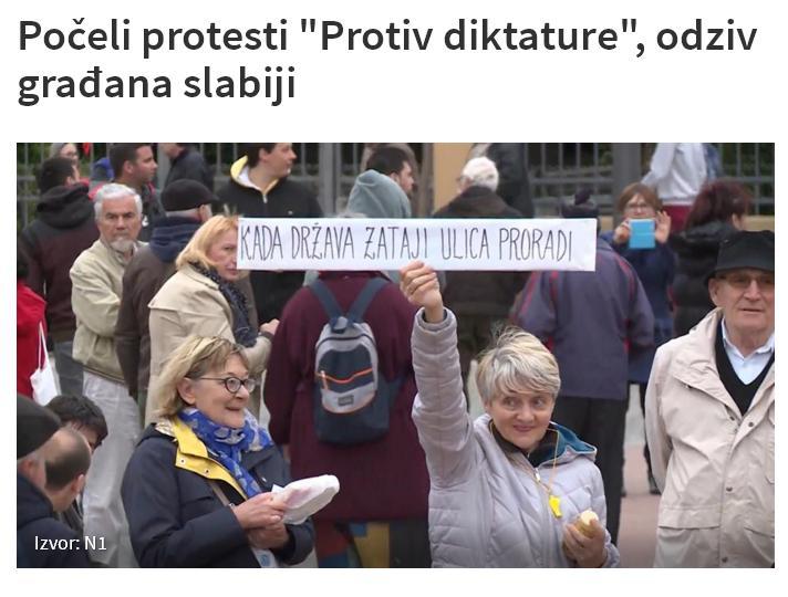 Protesti protiv Vučića Protes10