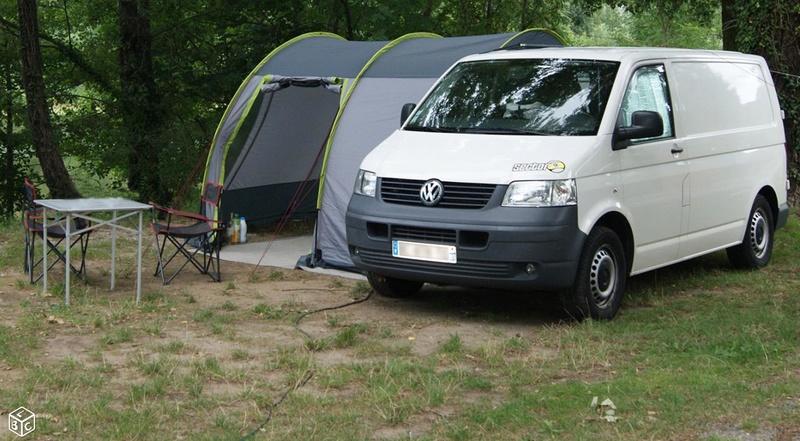 VENDS KIT COMPLET de camping (sur-mesure) pour VAN VW T5 Van111