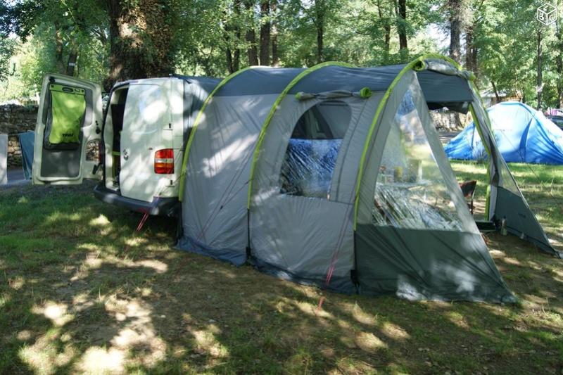 VENDS KIT COMPLET de camping (sur-mesure) pour VAN VW T5 Van211