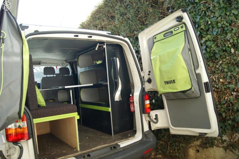 VENDS KIT COMPLET de camping (sur-mesure) pour VAN VW T5 Van411