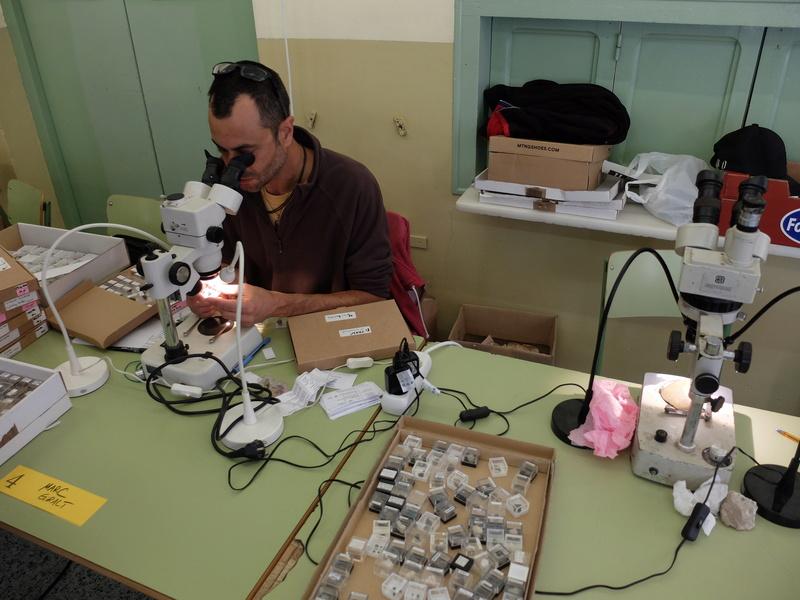 20-21 de maig 2017: II Trobada Interpirenaica de Micromineralogia i Sistemàtica Mineral Campro11