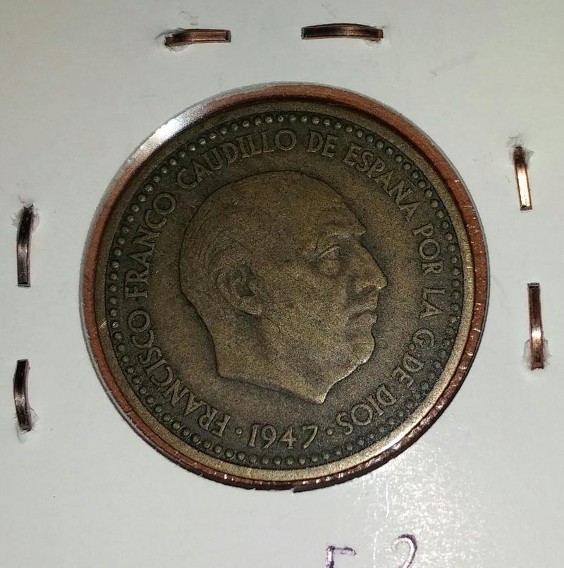 1 peseta 1947.Estado Español. Opinión sobre estado de conservación Anvers10