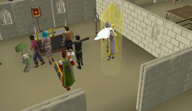 Sacrificed 3/4 of my bank but 99 Prayer achieved! Screen10