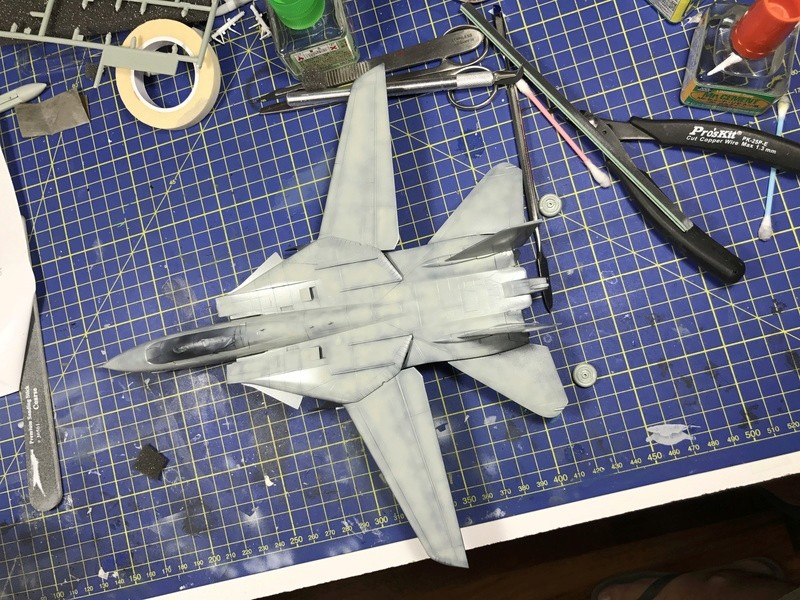 F-14A Tomcat Wolfpack 1/72 Academy(noooot) 2017-036