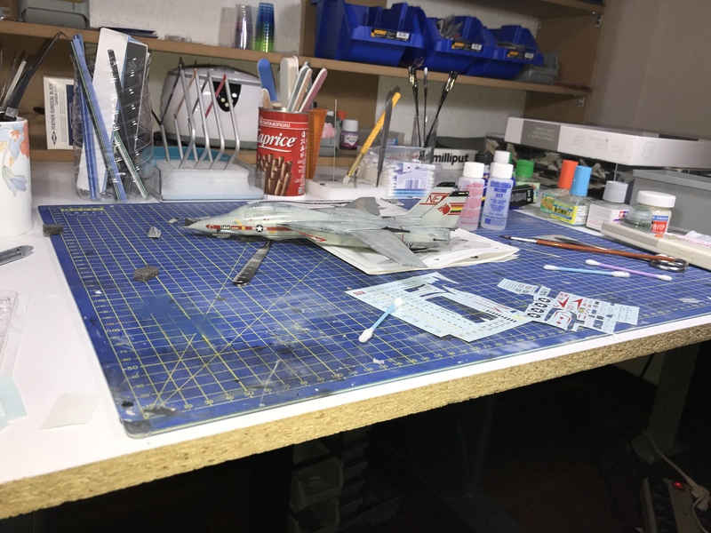 F-14A Tomcat Wolfpack 1/72 Academy(noooot) 2017-041