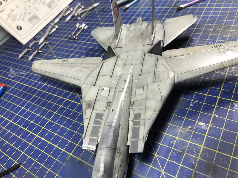 F-14A Tomcat Wolfpack 1/72 Academy(noooot) 2017-045