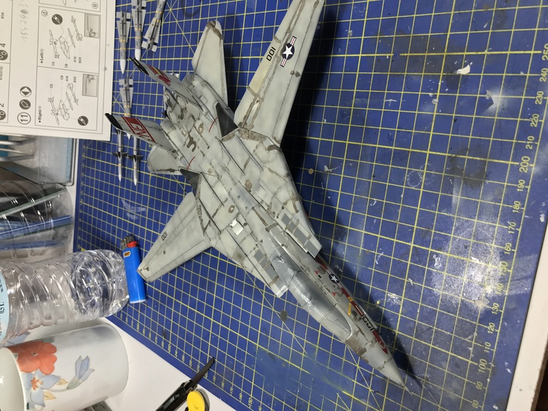 F-14A Tomcat Wolfpack 1/72 Academy(noooot) 2017-047