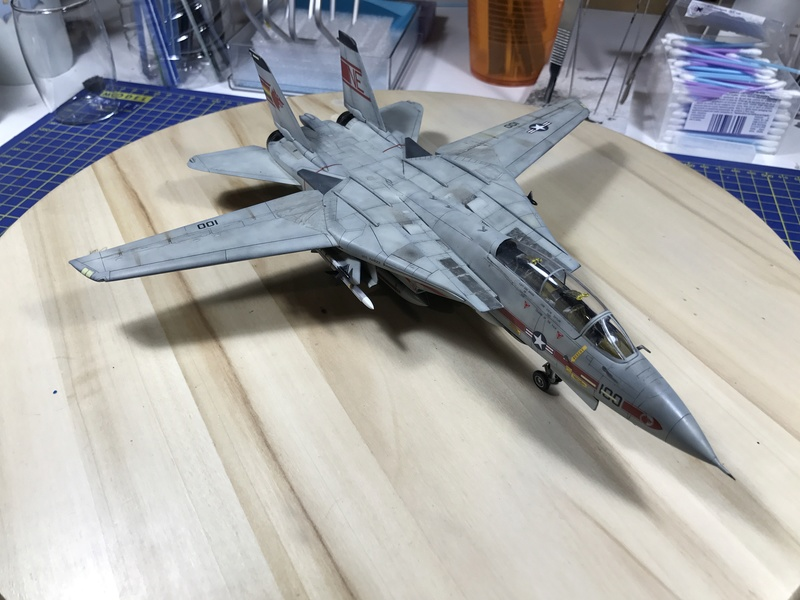 F-14A Tomcat Wolfpack 1/72 Academy(noooot) 2017-056