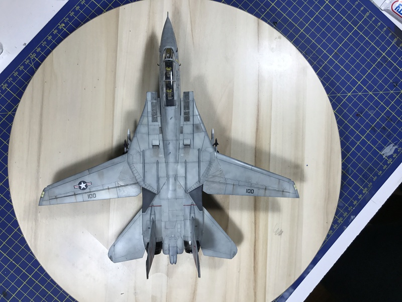 F-14A Tomcat Wolfpack 1/72 Academy(noooot) 2017-057