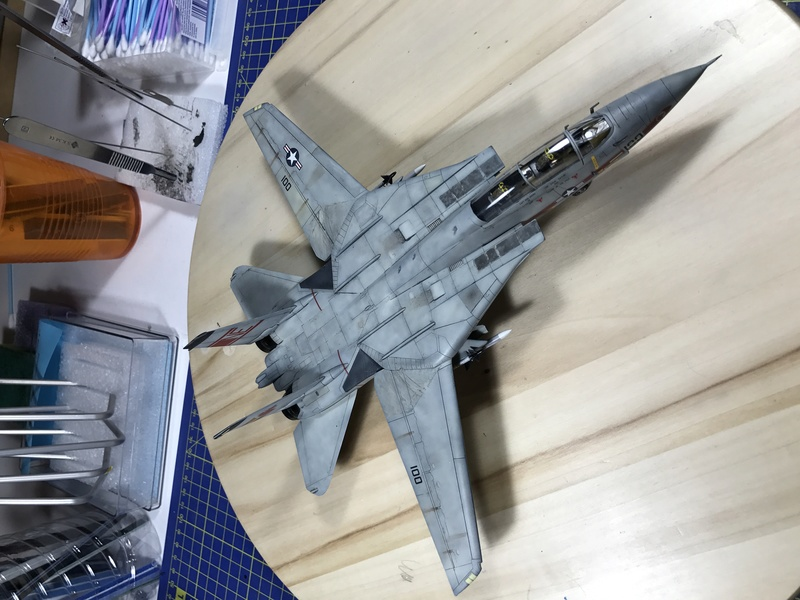 F-14A Tomcat Wolfpack 1/72 Academy(noooot) 2017-059