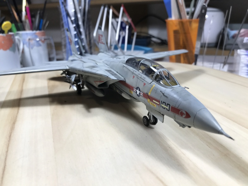 F-14A Tomcat Wolfpack 1/72 Academy(noooot) 2017-060