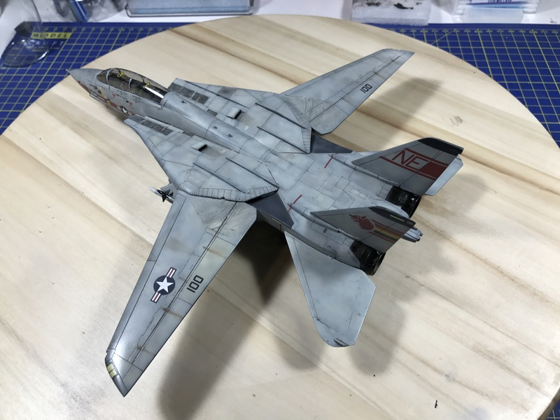 F-14A Tomcat Wolfpack 1/72 Academy(noooot) 2017-062