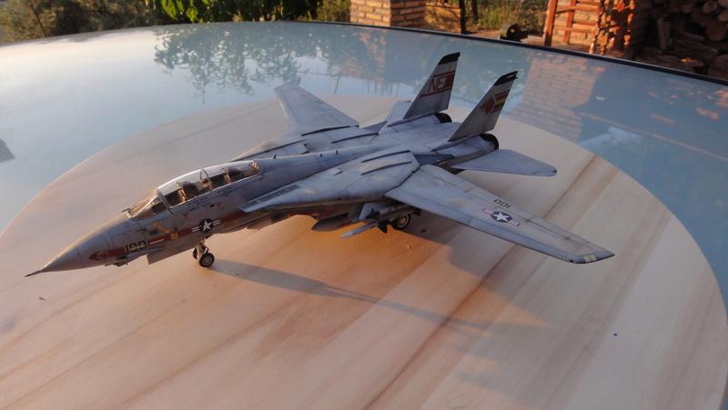 F-14A Tomcat Wolfpack 1/72 Academy(noooot) Dsc01012